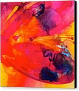 Tie Dye Wishes Canvas Print by Debi Starr