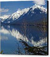 Time For Reflection Canvas Print by Fran Riley