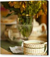 Time For Tea Canvas Print by Andrew Soundarajan