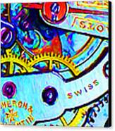 Time In Abstract 20130605 Canvas Print by Wingsdomain Art and Photography