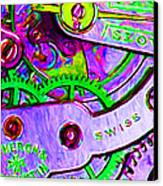 Time In Abstract 20130605p72 Canvas Print by Wingsdomain Art and Photography