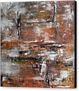 Timeless - Abstract Painting Canvas Print by Ismeta Gruenwald