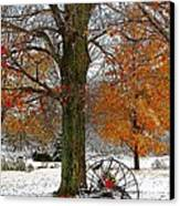To Everything There Is A Season... Canvas Print by Diane E Berry