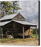 Tobacco Barn In North Carolina Canvas Print by Benanne Stiens