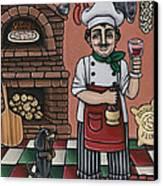 Tommys Italian Kitchen Canvas Print by Victoria De Almeida