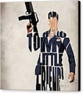 Tony Montana - Al Pacino Canvas Print by Ayse Deniz