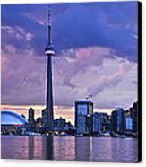 Toronto Skyline Canvas Print by Elena Elisseeva