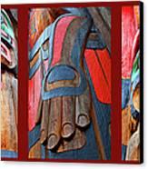 Totem 3 Canvas Print by Theresa Tahara