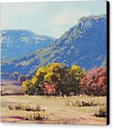 Touch Of Autumn  Canvas Print by Graham Gercken