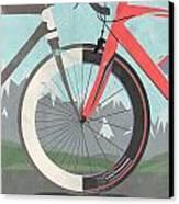 Tour De France Bicycle Canvas Print by Andy Scullion
