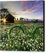 Tour De France Canvas Print by Debra and Dave Vanderlaan