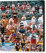 Toys And Nutcrackers For Sale Canvas Print by Ronda Broatch