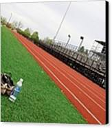 Track And Field Canvas Print by Tom Druin