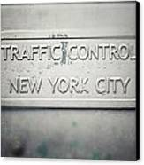 Traffic Control Canvas Print by Lisa Russo