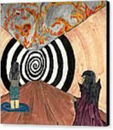Transition Canvas Print by Angela Pelfrey
