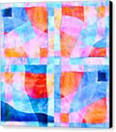 Translucent Quilt Canvas Print by Carol Leigh