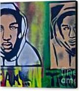 Trayvon Martin Canvas Print by Tony B Conscious