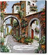 Tre Archi Canvas Print by Guido Borelli