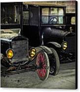 Treads Of Time Canvas Print by Karen Wiles