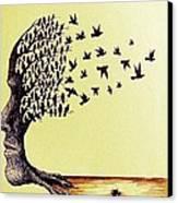 Tree Of Dreams Canvas Print by Paulo Zerbato