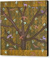 Tree Of Life Canvas Print by Diana Perfect