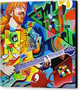 Trey Kandinsky  Canvas Print by Joshua Morton