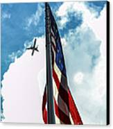 Tribute To The Day America Stood Still Canvas Print by Rene Triay Photography