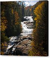 Triple Falls Canvas Print by Penny Lisowski