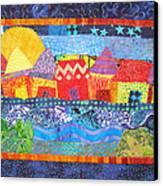 Tropical Harmony Canvas Print by Susan Rienzo