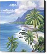 Tropical Paradise 2 Canvas Print by John Zaccheo