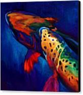 Trout Dreams Canvas Print by Savlen Art