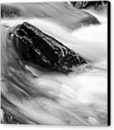 True's Brook Gorge Water Fall Canvas Print by Edward Fielding