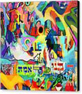 Truth For Sale N Canvas Print by David Baruch Wolk