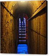 Tunnel Exit Canvas Print by Carlos Caetano