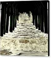 Tunnel Vision Canvas Print by Karen Wiles