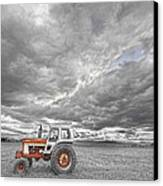 Turbo Tractor Superman Country Evening Skies Canvas Print by James BO  Insogna