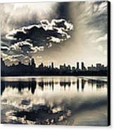 Turbulent Afternoon Canvas Print by Nishanth Gopinathan