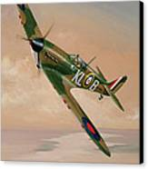 Turning For Home Canvas Print by Richard Wheatland