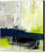 Turning Point - Contemporary Abstract Painting Canvas Print by Linda Woods