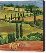 Tuscan Dream 1 Canvas Print by Debbie DeWitt