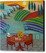 Tuscan Dreams Canvas Print by Victoria Lakes