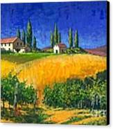 Tuscan Evening Canvas Print by Michael Swanson