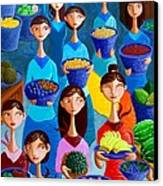 Tutti Frutti Canvas Print by Paul Hilario