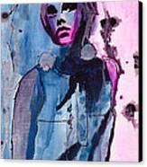 Twiggy Canvas Print by Gracja Waniewska