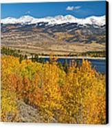 Twin Lakes Colorado Autumn Landscape Canvas Print by James BO  Insogna