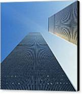 Twin Towers Canvas Print by Jon Neidert