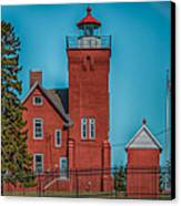 Two Harbors Lighthouse Canvas Print by Paul Freidlund