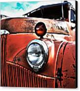 Uncle Mater Canvas Print by Justin  Curry