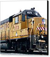 Union Pacific Yard Master Canvas Print by Steven Milner