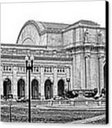 Union Station Washington Dc Canvas Print by Olivier Le Queinec